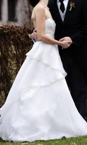 swan wedding watters 8012b swan 819 size 4 used wedding dresses