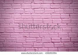 Pink Brick Wall Light Purple Brick Wall Use Background Stock Photo 650541157