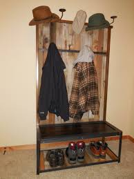 hall coat rack