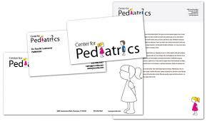 Medical Business Card Design Business Card Template For Medical Pediatric Office Order Custom