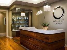 Spa Reception Desk Best 25 Spa Reception Ideas On Pinterest Area Regarding