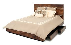 Reclaimed Wood Platform Bed Unique Platform Beds Contemporary Rustic Reclaimed Woods