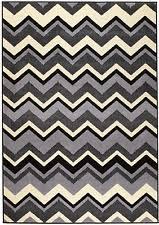 grey chevron rug ebay