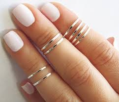 knuckle rings images 8 above the knuckle rings silver stacking ring knuckle etsy jpg