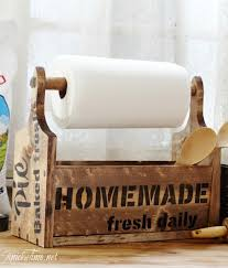 fun diy paper towel holders for your kitchen