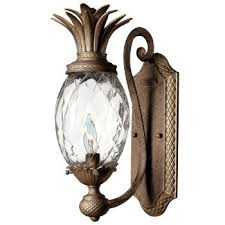 Pineapple Wall Sconce Atlantis Outdoor Wall Sconce By Hinkley Lighting At Lumens Com
