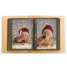 4x6 album christmas personalized maple wood 4x6 photo album