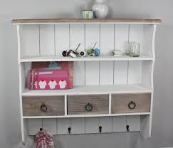 new kitchen wall shelf coat rack spice rack white brown