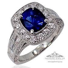 sapphire wedding rings images 2 61 ct sapphire diamond platinum wedding ring royal jpg