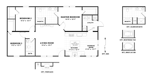 100 oakwood manufactured homes floor plans 100 oakwood