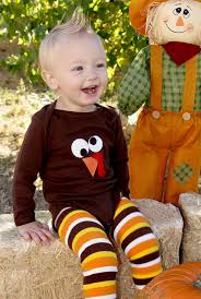 babys 1st halloween fall thanksgiving turkey bodysuit u0026 leg covers 2 by wechoosejoy