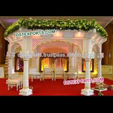 wedding mandaps indian wedding temple mandap traditional fiber pillar mandap