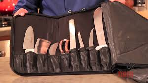 Case Xx Kitchen Knives Chef Works Knife Bag Showcased By Chef Dangoor Tigerchef Youtube