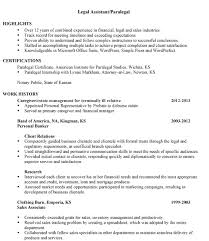 Personal Injury Paralegal Resume Sample by Lofty Paralegal Resume Sample 3 Combination Sample Legal Assistant