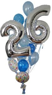 number balloons delivered birthday balloons