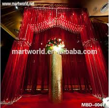Indian Wedding Decorations For Sale Red Wedding Stages Decorations Crystal Background Wedding
