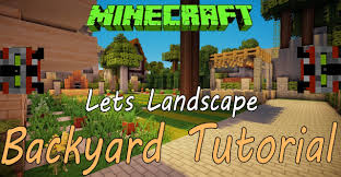 minecraft tutorial landscaping ep 1 youtube