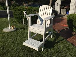 Diy Pvc Patio Furniture - tips diy woodworking project safety lifeguard chair plans