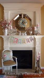 Easter Fireplace Mantel Decorations by Top 16 Mantel Decor Ideas For Easter U2013 Easy Interior Design For