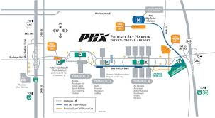 Map Of Phoenix by Phoenix Sky Harbor International Airport Map Maps Pinterest