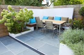 Family Gardens Contemporary Small Family Garden Designers In Clapham Sw4 Slate