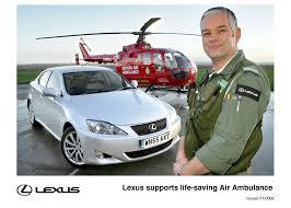 lexus plymouth uk lexus supports life saving air ambulance lexus uk media site