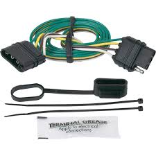 hopkins towing solutions trailer wiring adapter u2014 4 wire flat to 4