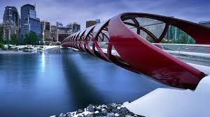 beautifully designed peace bridge from calgary canada the beautifully designed wallpaper