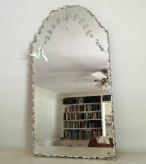 Bathroom Mirror Vintage Etched Bathroom Mirror Vintage Mirrors And Intended For Decor 10