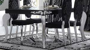Silver Dining Table And Chairs Silver Dining Room Sets Photo Of Well Silver Dining Room In