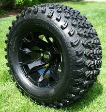 Wheel And Tire Package Deals 12 Inch Golf Cart Wheels And Tires Combos For Lifted Golf Carts