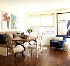 dining table room decorating modern dining couch seating for