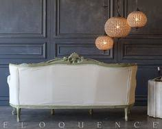 Eloquence One Of A Kind Vintage French Gilt Cane Louis Xvi Style Twin Bed Pair Eloquence One Of A Kind Vintage Bed Louis Xv Worn Gilt Layla