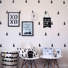 fir tree wall stickers by parkins interiors notonthehighstreet com fir tree wall stickers