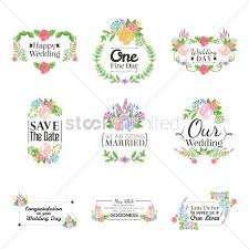 congratulation wedding card wedding card collection vector image 1789977 stockunlimited