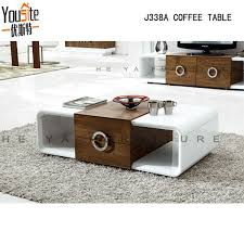 Fancy Design High Gloss Lcd Wooden Coffee Table Buy Coffee Table - Tea table design