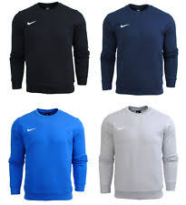 nike pullover sweater nike team crew s pullover sweatshirt sweater black 2xl ebay