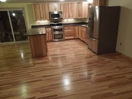 Stained Hickory Cabinets Hickory Hardwood Flooring Kitchen With Cabinet Hardware Chestnut