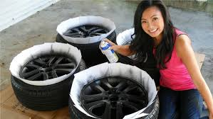 how to plasti dip car rims in matte black this spray is like paint but