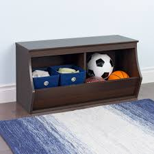 stackable 2 bin storage cubby by prepac