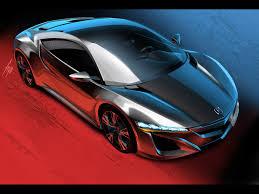 honda supercar concept 2012 honda nsx concept rendering 2 1920x1440 wallpaper