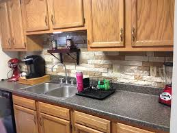 decorating charming backsplash with airstone lowes plus oven