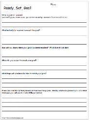 goal setting for students teaching pinterest setting goals