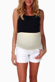 maternity shorts white jean maternity shorts