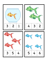 dr seuss theme free preschool printables cute fish number