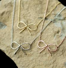 long chain bow necklace images Bow necklace jpg
