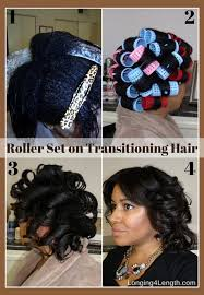 roller set relaxed hair pictures on how to roller set hair shoulder length hairstyles