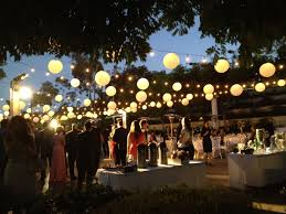 outdoor wedding lighting outdoor wedding lighting with style home landscapings