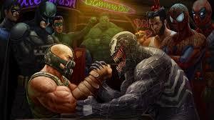 bane green lantern wolverine marvel vs dc comic marvel comics