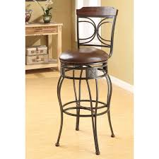 Linon Home Decor Bar Stools by Linon O U0026 X Back 30 In Metal Swivel Bar Stool Hayneedle